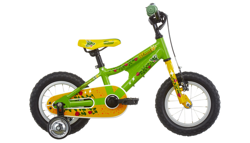 "Ghost Powerkid 12"" riot green /yellow/riot red"